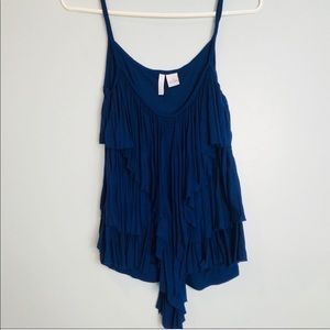O'Neil | Navy Ruffle Tank Top S